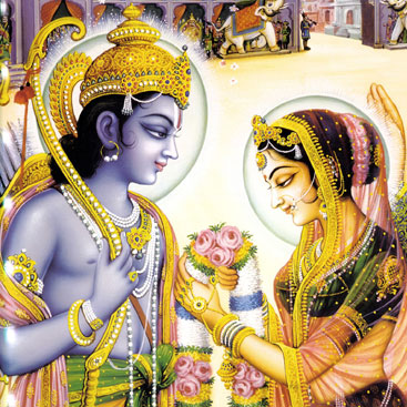 Rama Sita Happy Marriage Life